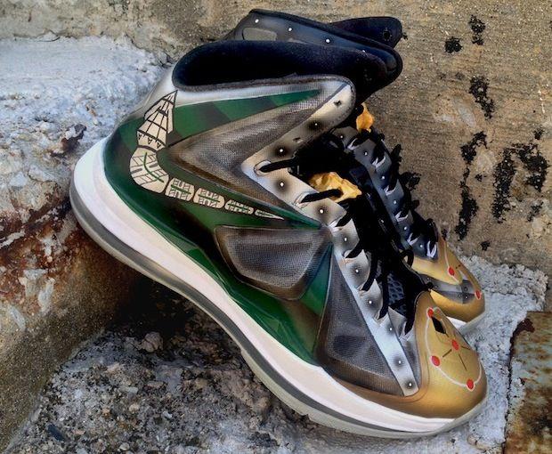 "Nike LeBron X ""Dragonzord"" Custom"