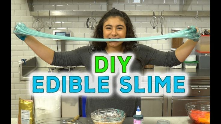 How to make DIY EDIBLE SLIME with Sofia Valastro
