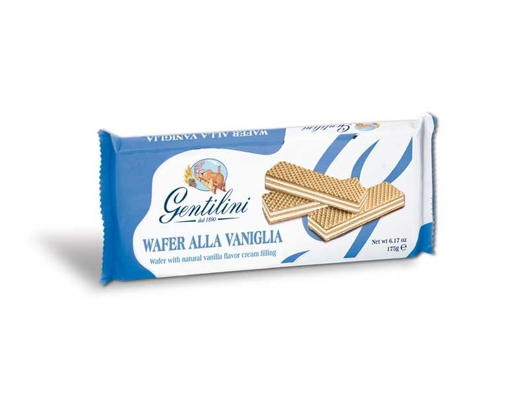 How many times during the day do you want something tasty? For all those moments, Gentilini wafers are ideal: a delicious and nutritious snack and at the same time light and natural. Right from the first bite you will remain pleasantly surprised by the crispness of the three fine layers and by the soft creamy filling that melts gently in your mouth. They come in three flavours and you have to try all of them: delicious cocoa, delicious hazelnut cream and sweet, refined vanilla.
