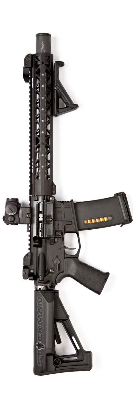 Magpul equipped 300BLK carbine with AXTS Weapons lower, Rainier Arms upper, and Noveske KX3. By Stickman.