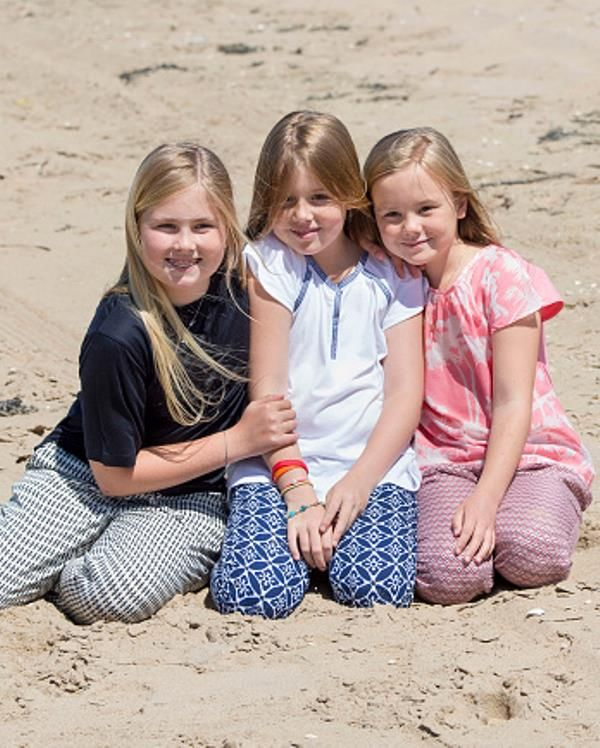 Dutch Royal Family Summer Photocall  on July 10, 2015 in Wassenaar, Netherlands.