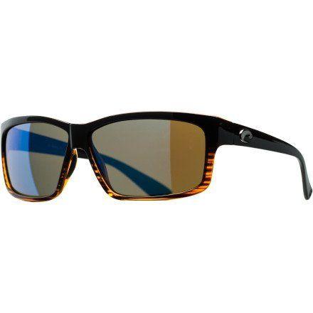 Costa Del Mar Cut Polarized Sunglasses - Costa 580 Glass Lens Coconut Fade/Blue Mir, One Size Costa Del Mar. $218.95