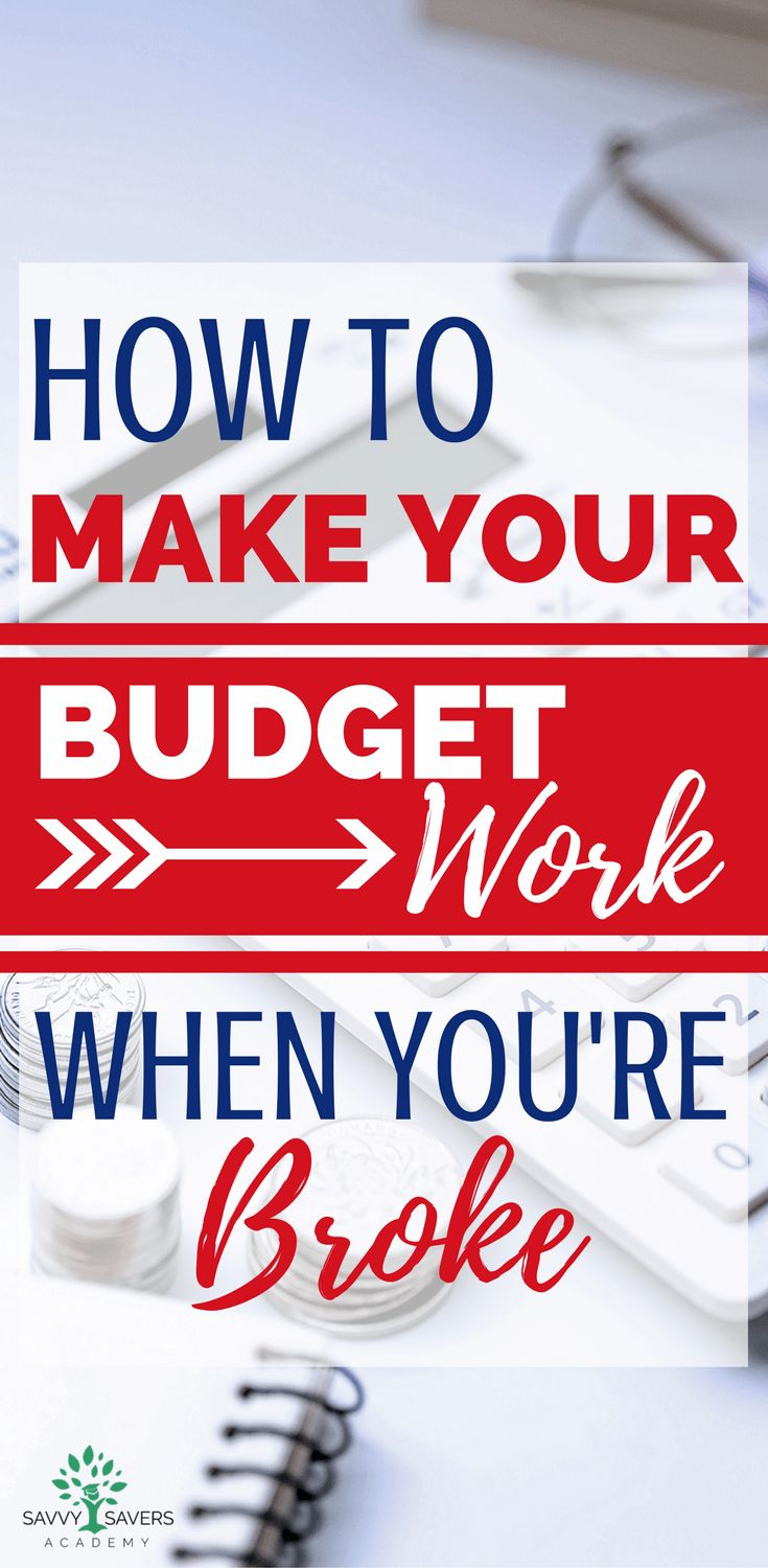 Living on a budget when you're broke or have a low income can be stressful. Follow these tips to make living on a budget possible and help you manage your money. #budget #spendingplan via @SaveMoneyandBudget