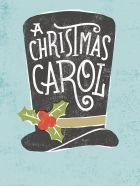 Illustrated A Christmas Carol Poster