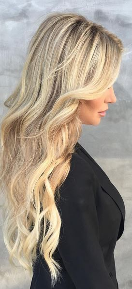 Best 25 hello hair ideas on pinterest grey dyed hair dark the perfectly done blonde with custom extensions hello hair envy color and extensions pmusecretfo Gallery