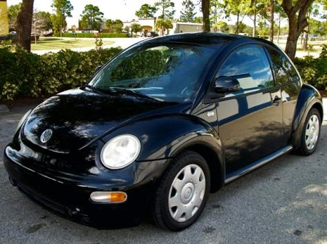 Cheap Volkswagen New Beetle GLS '99 with low miles in Florida, FL — $3250