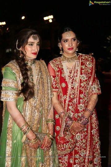 Khada dupatta bridal hyderabad