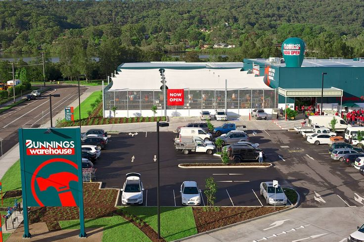 Bunnings - West Gosford, Construction 2013
