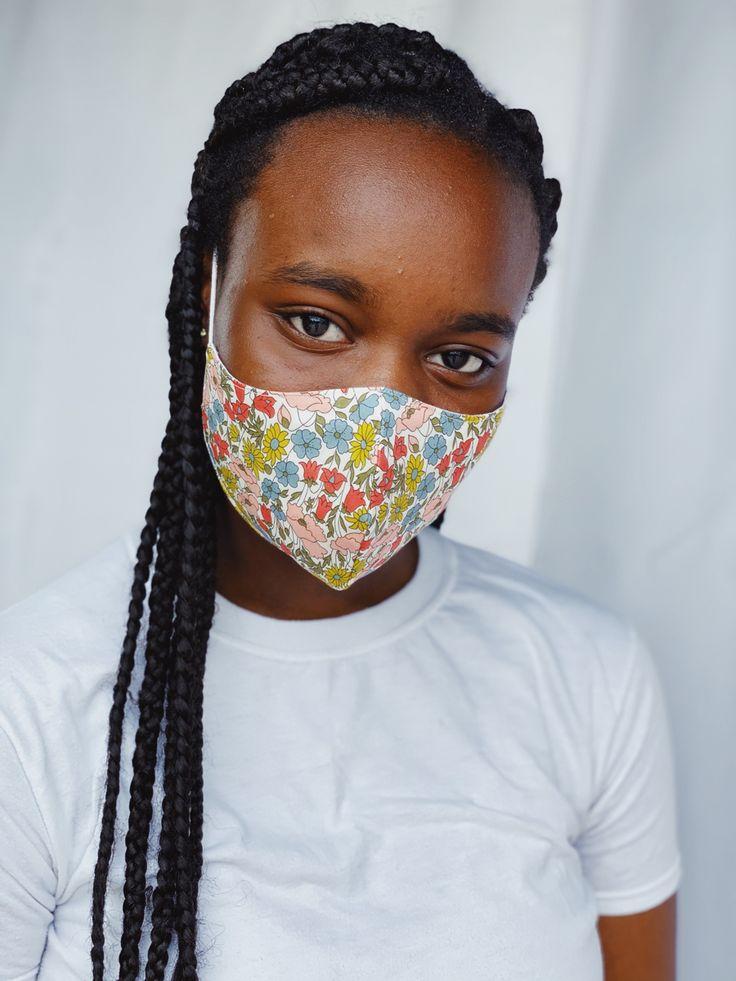 Liberty of london face mask in 2020 lemon face mask eye