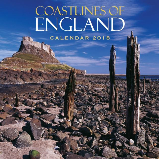 Coastlines of England Calendar 2018