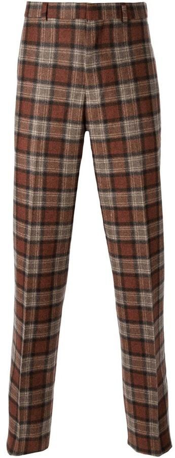Pin for Later: Scottish Actor Craig McGinlay's Ultimate Guide to Christmas Shopping For Men Brooks Brothers Tartan Trousers (£191)