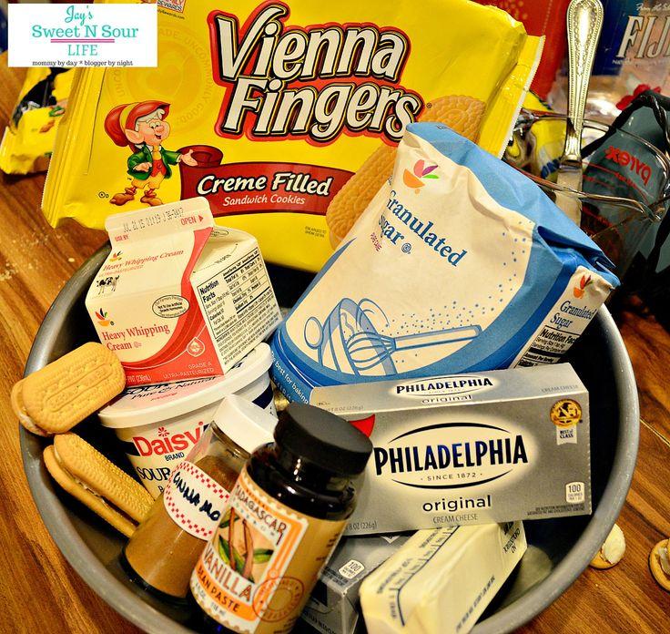 vienna finger cheesecake bites ingredients