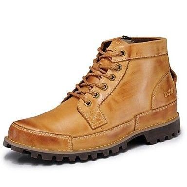 Férfi cipő Bőr
