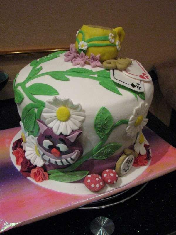 Торты Алиса в стране чудес