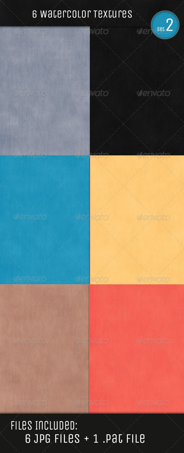 Water Color Textures V2