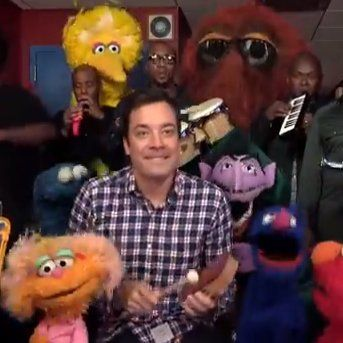 Cute Alert: Jimmy Fallon Takes On the Sesame Street Theme With Elmo & Friends