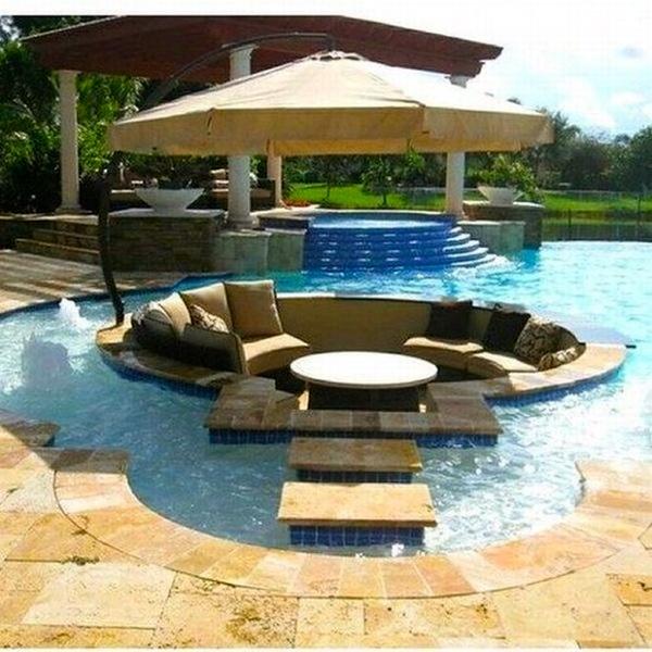 backyard: Pool Idea, Ideas, Dream House, Outdoor, Backyard, Pools, Dreamhouse