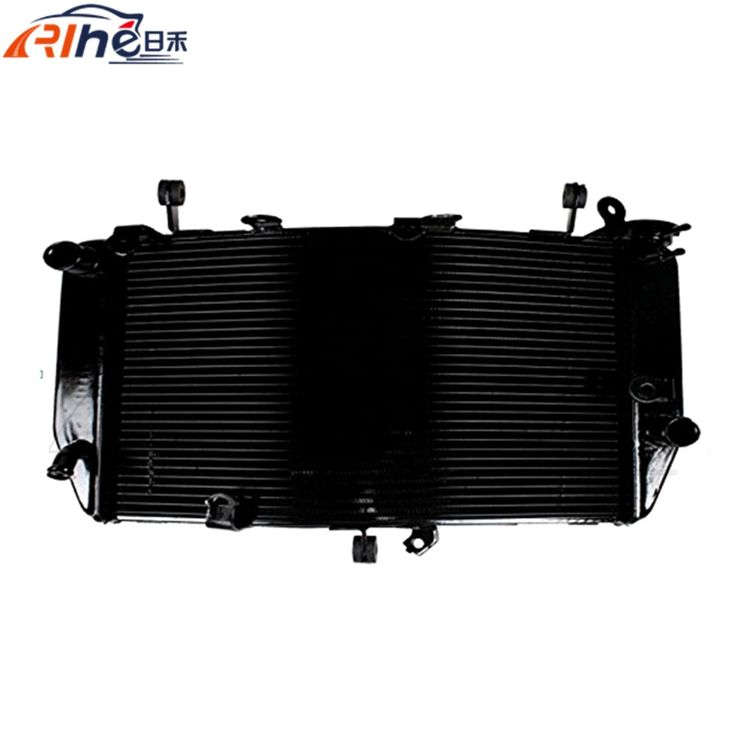 162.23$  Watch now - http://alisbn.worldwells.pw/go.php?t=32562376907 - high quality motorcycle accessories radiator cooler aluminum motorbike radiator For Yamaha R6S 2006 2007 2008 2009 2010 162.23$