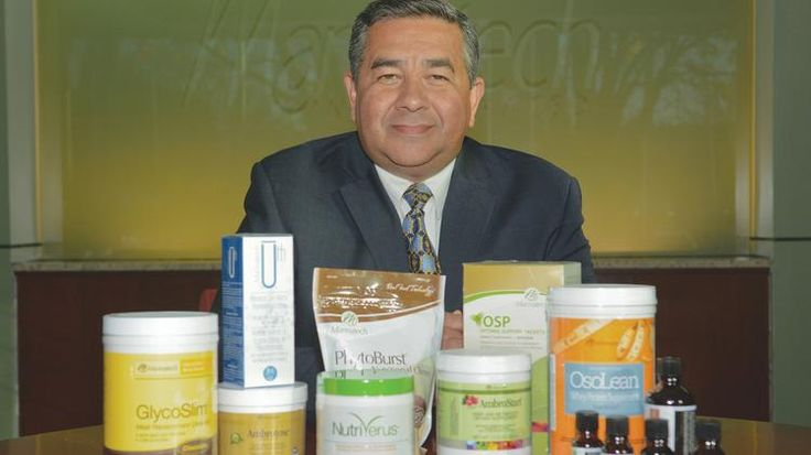 Al Bala, Mannatech, president and CEO at the company's Coppell facility where health, weight and fitness, and skin care products are designed and marketed for direct sales.