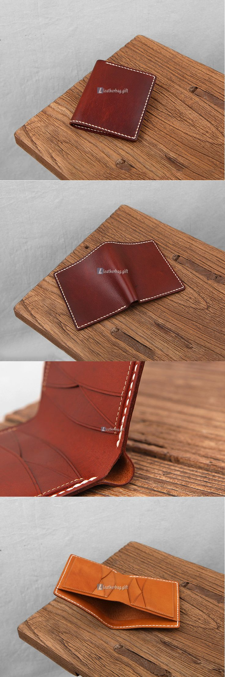 $144.60 Brown Leather Wallet Purse