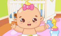 Baby Bathing - Un juego gratis para chicas en JuegosdeChicas.com