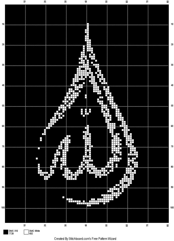 islamic cross stitch etamin ALLAH lafzı