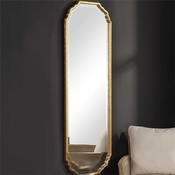 Christiano Traditional Beveled Full Length Wall Mirror Mirror