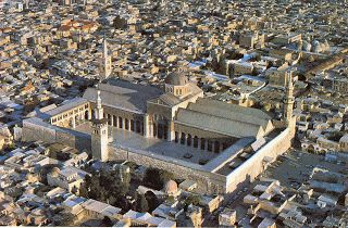 Umayyad Mosque (Damascus) Syria. Compl. 715. Astrogeographic position: both coordinates are in the maternal, emotional, subjectivistic water sign Cancer, the main indicator for authenticity in modern architecture which refers to the fact that Umayyad Mosque was built next to the older St. Johns Curch and the even much older temple of Jupiter. In the case of temples Cancer stands for the emphasis on authenticiticty of prayer, worship and religion. Valid for field level 3.