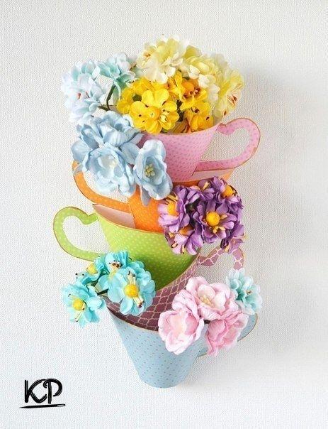 Практичный декор для хранения цветов от Инны Бронниковой