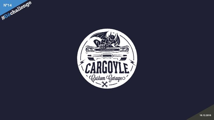 #Bechallenge | No.14 | CARGOYLE on Behance