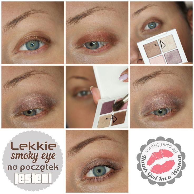 Make-up: Lekkie smoky eye na początek jesieni