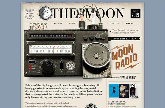 modern steampunk ui design | Подборка уникальных веб-дизайнов и ...