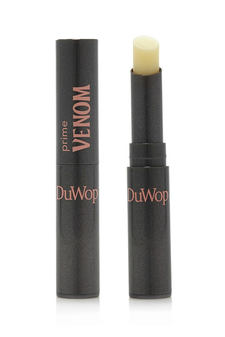 This plumping Lip Venom by DuWop™ doubles as a lip balm and primer.