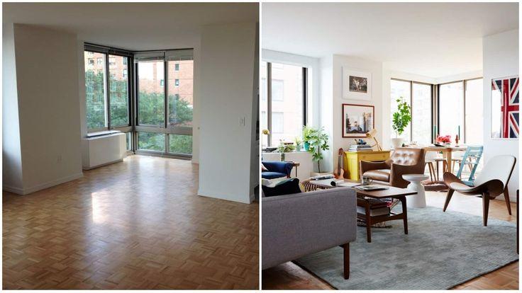 Küçük Bir Apartman Dairesinde Baştan Sona Dekorasyon İçin Püf Noktaları