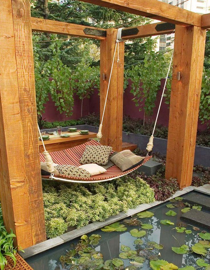 Small Backyard Relaxing Design                                                                                                                                                      More