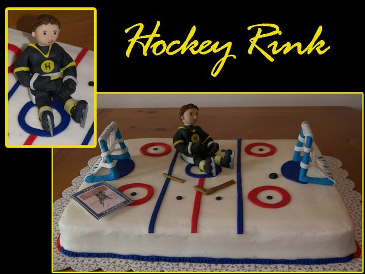 24 best Cakes Hockey images on Pinterest Montreal canadiens
