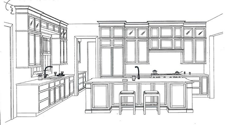 Best Luxury 12X12 Kitchen Layout With Island 51 For With 12X12 640 x 480