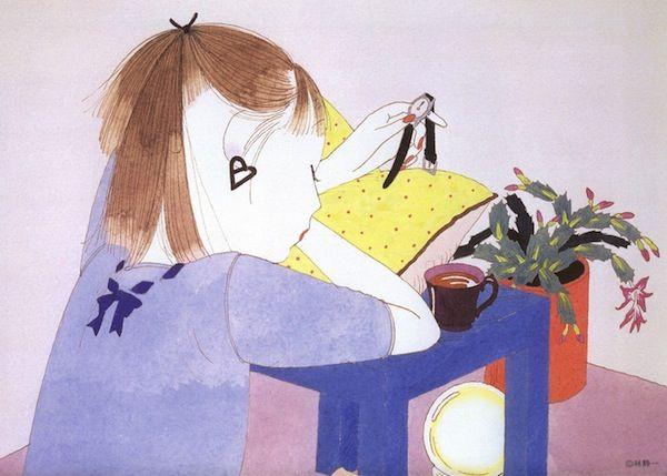 Flavorwire » Seiichi Hayashi's Pretty Illustrations of Modern Young Women