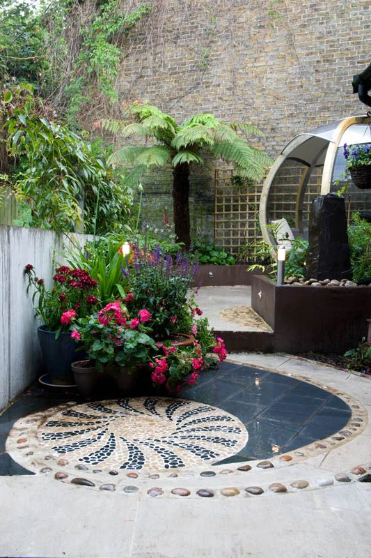 336 best images about courtyard landscaping on pinterest for Courtyard entertaining ideas