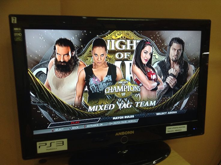 Team B.A.D. (Luke Harper and Tamina Snuka) vs. Team Bella/Team Brie and Roman (Brie Bella and Roman Reigns) in Night of Champions at WWE 2K15 #TeamBAD #TeamBella #Bae #Superbae #WWENOC #BrieAndRomanWWE #TaminaSnukaAndLukeHarper #WWE2K15