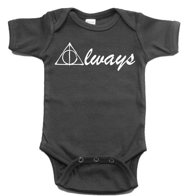This heartwarming onesie. | 27 Adorable Harry Potter Things Your Baby Needs