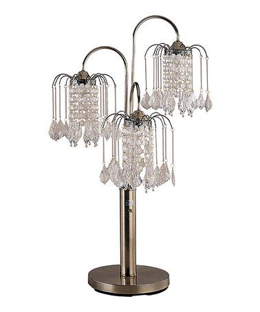 Best 25 chandelier table lamp ideas on pinterest bedside lamps love this antique brass triple chandelier table lamp by ore international inc on zulily aloadofball Image collections