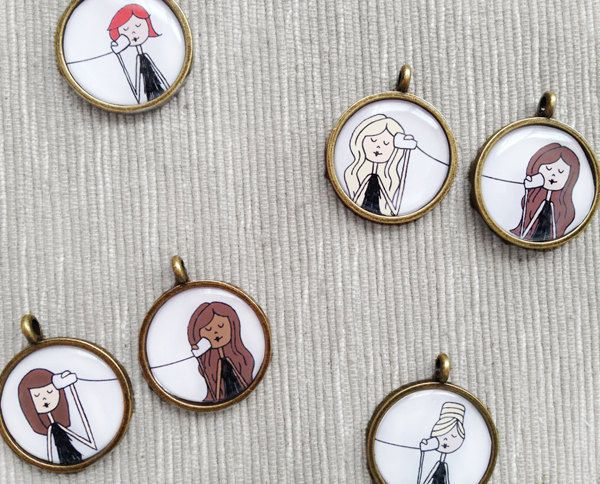 A custom BFF pendant. | 23 Incredibly Thoughtful Gifts Everyone Will Want
