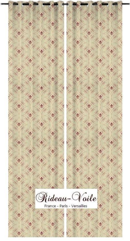 17 meilleures id es propos de rideaux cr me sur pinterest rideaux de salle manger rideaux. Black Bedroom Furniture Sets. Home Design Ideas