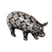Found it at Wayfair - Floral Piggy Bank