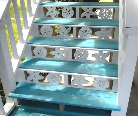 Decorative Brackets with a Coastal Theme by Island Creek Designs...cute for the beach house...