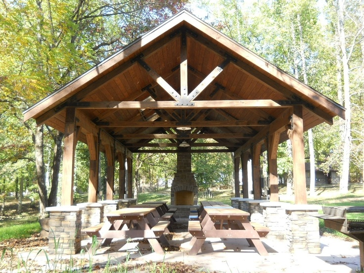 rustic outdoor shelters - Google Search