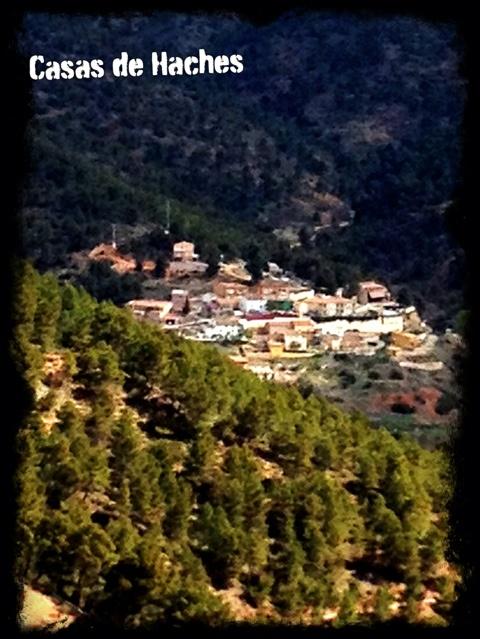 Vista de la Aldea de Casas de Haches, donde se encuentra el Complejo rural VegaSIerra #albacete #turismorural