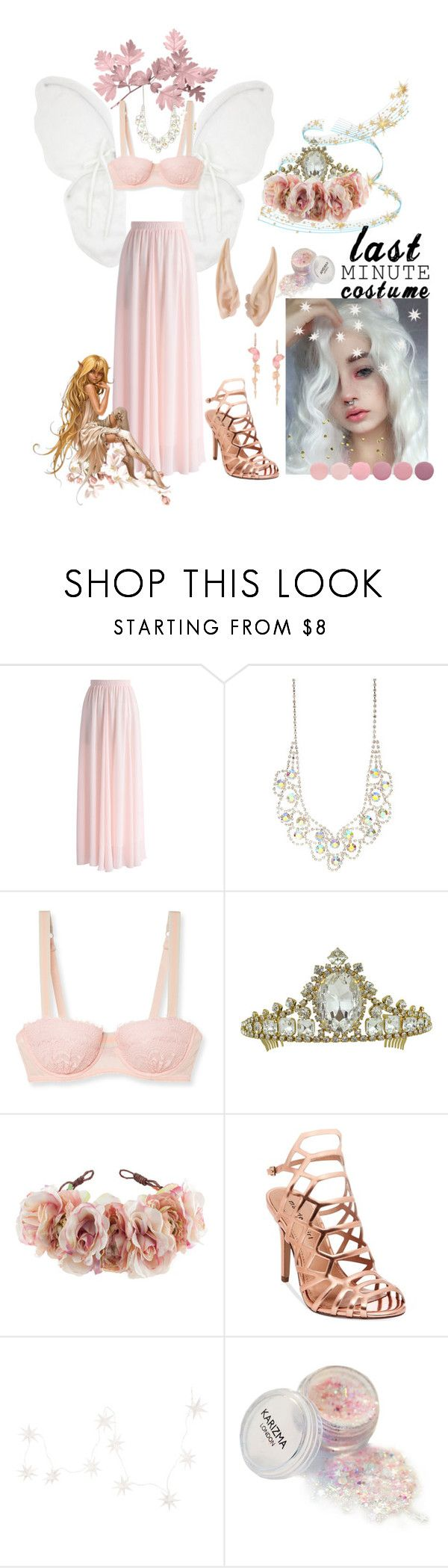 """Fairy"" by killingstalking ❤ liked on Polyvore featuring Chicwish, Mimi Holliday by Damaris, Rock 'N Rose, Madden Girl, NKUKU and Deborah Lippmann"