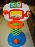 14 Fisher Price Dunk and Cheer baby Basketball hoop